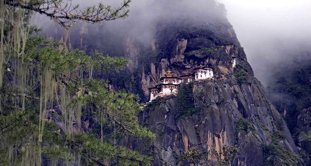 The iconic Tiger's Nest Monastery