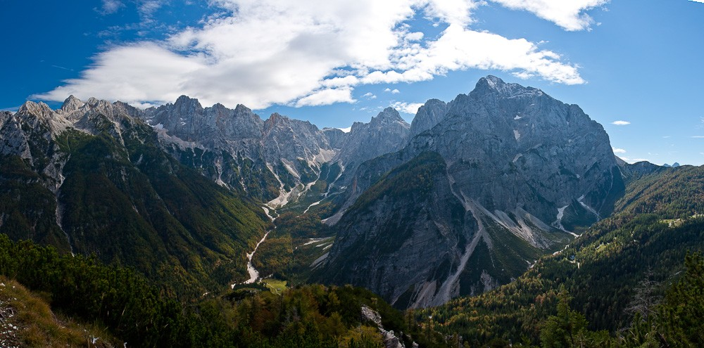 The majestic Julian Alps