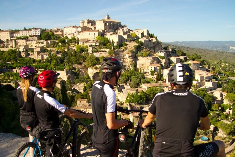 Overlooking Gordes, one of the nicest villages in France