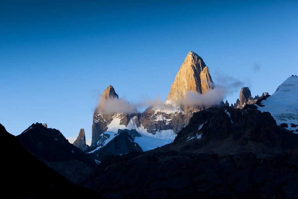 Fitz Roy Mountains from El Chalten
