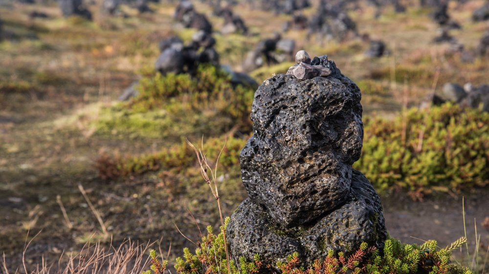 Fortune Stones at Laufskálavarða (photo by Chris McCarty)