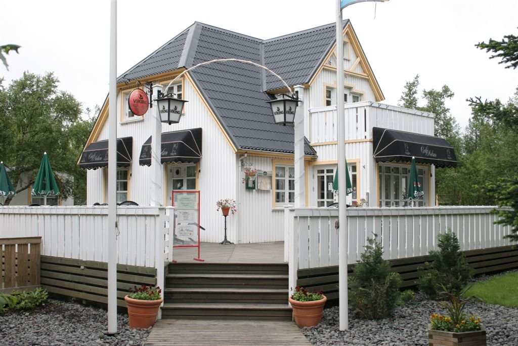 Cafe Nielsen, located in Egilsstaðir's oldest house