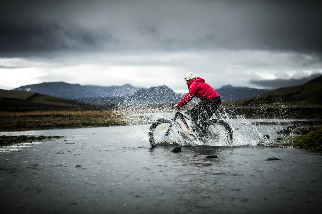Go fat biking through rugged terrain for a thrilling adventure
