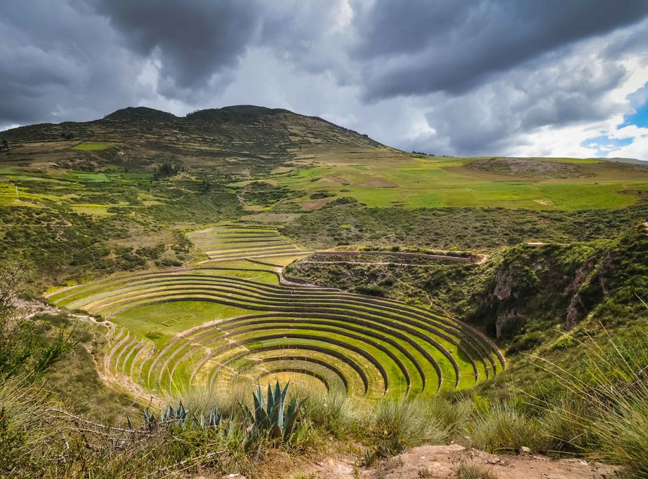 Incan ruins at Moray