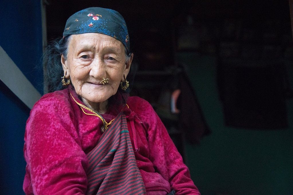 Woman from Annapurna