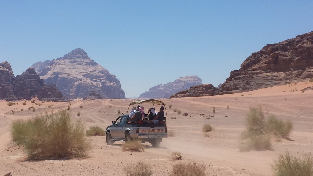Jeep Ride in Wadi Rum