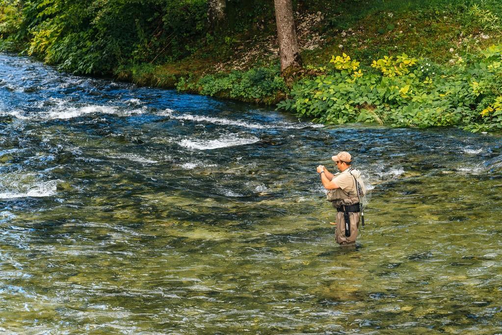 Sava Bohinjka river