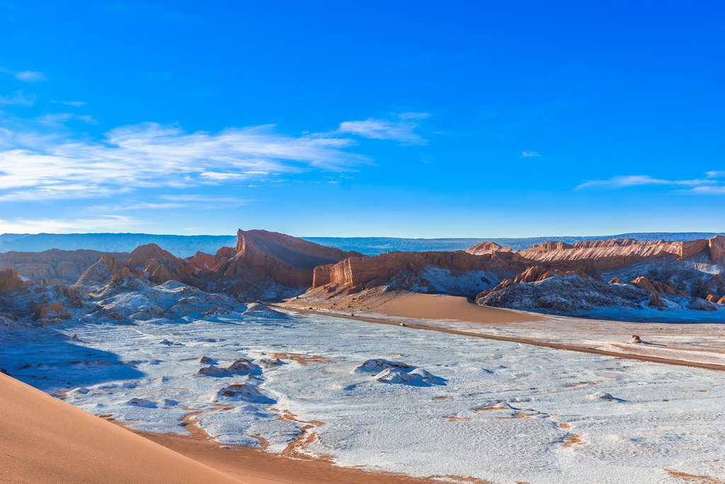 Bolivia's spectacular Valley of the Moon.