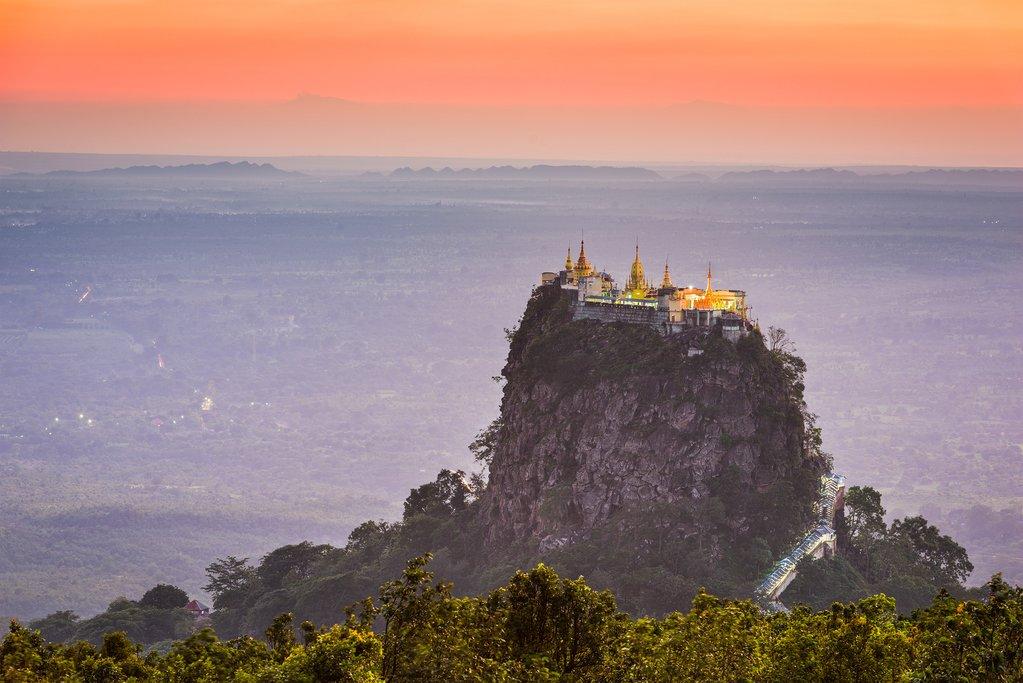 Taung Kalat Monastery on Mt. Popa