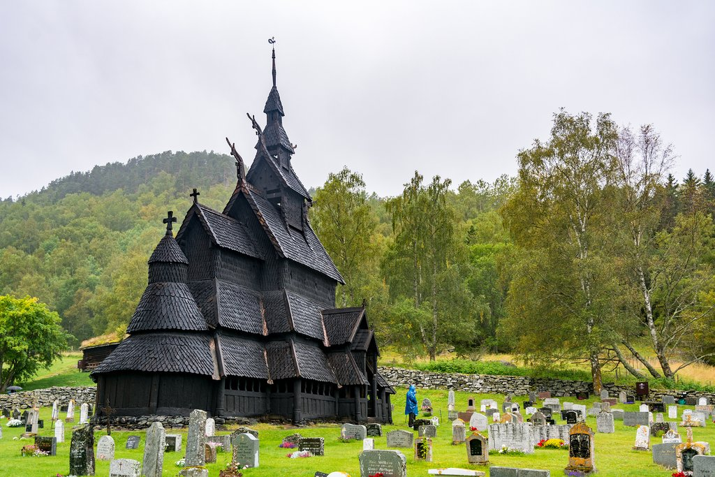This 12th-century wooden structure is the highlight in Borgund.
