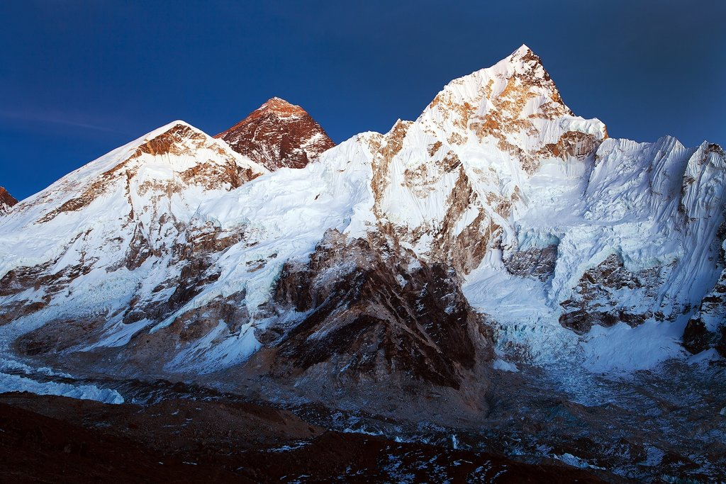 Enjoy a spectacular view of Mt. Everest from Kala Patthar lookout