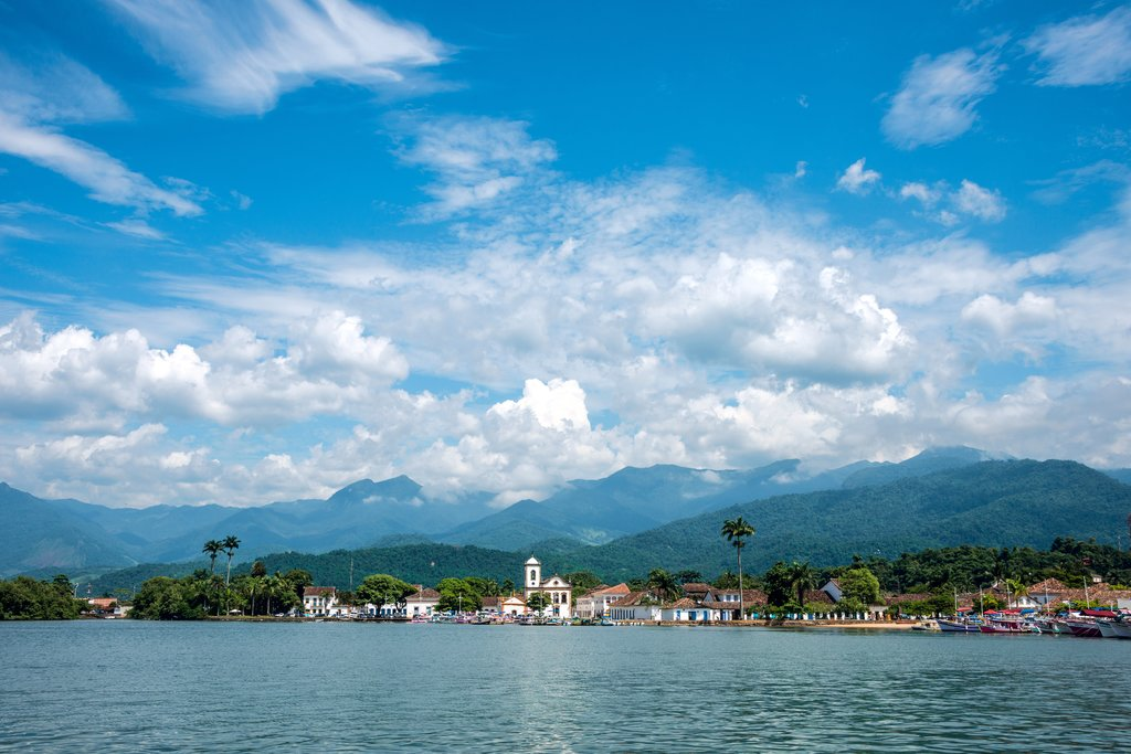 The colonial town of Paraty dates back to the Brazilian Gold Rush