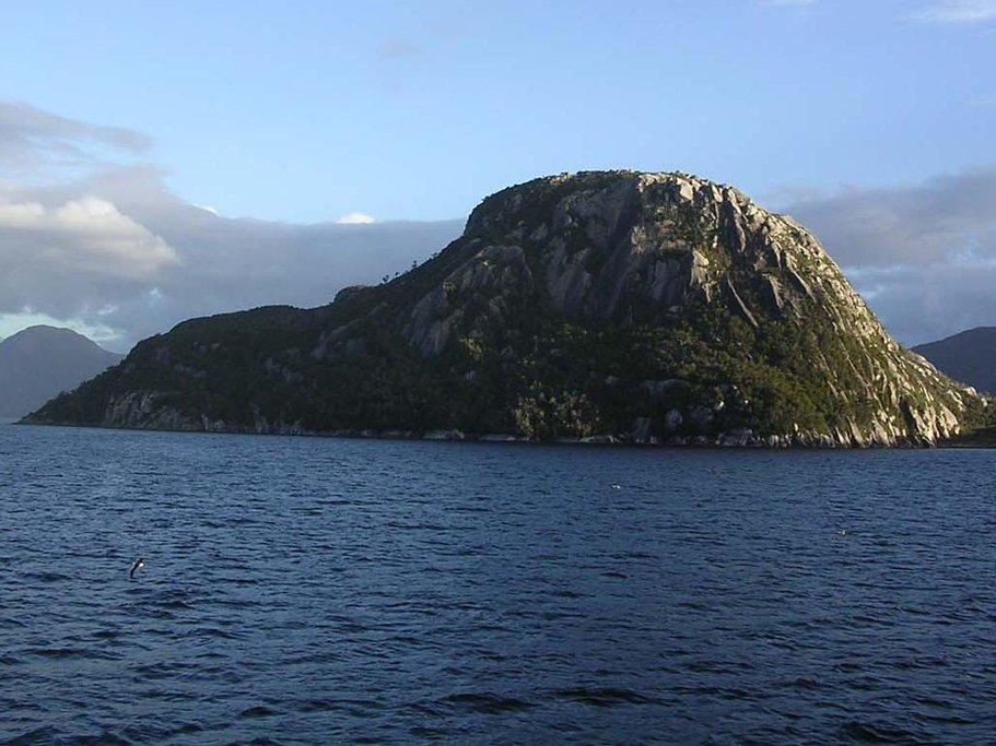 Off the coast of Chiloe Island