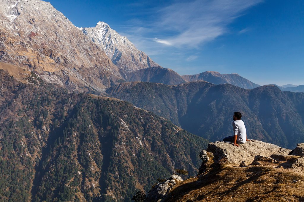 Trek to Triund in the Himalayas
