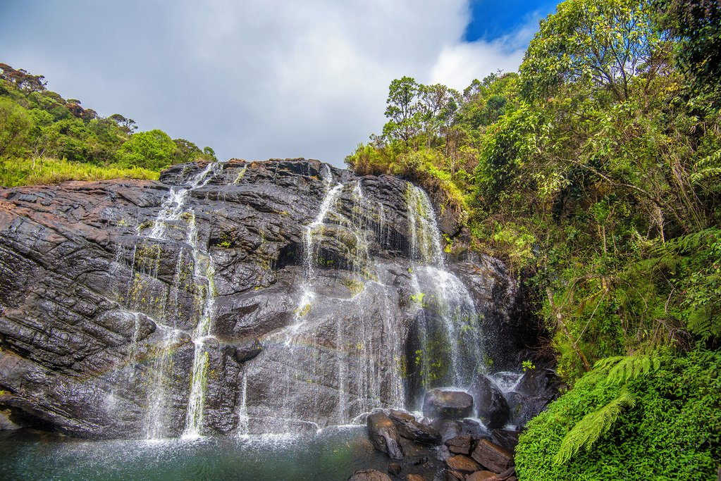 Bakers Falls in Horton Plains National Park