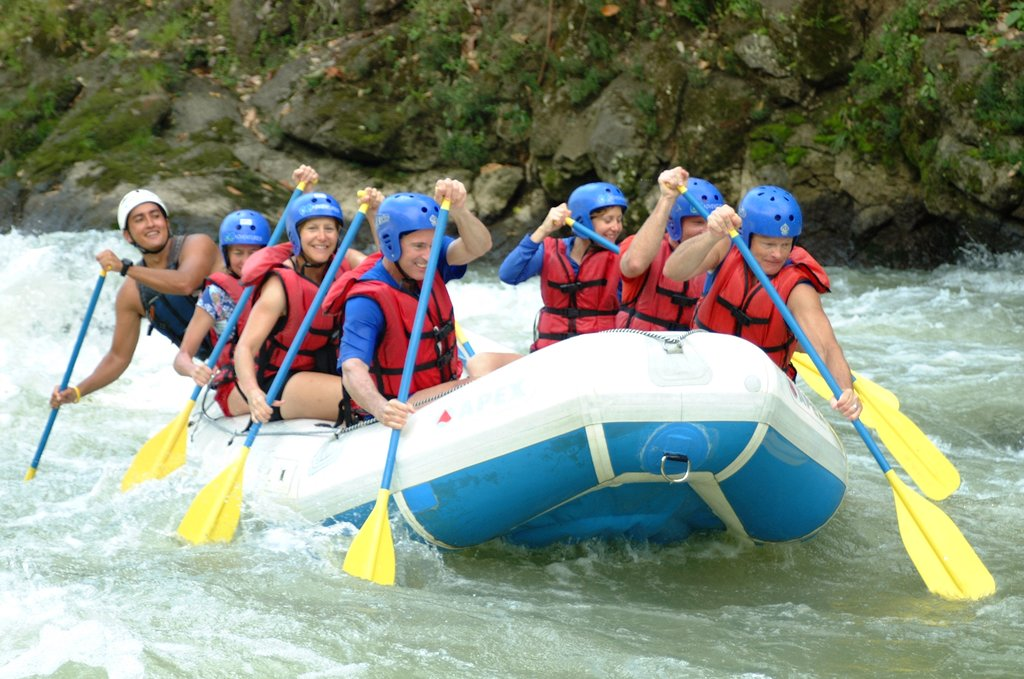 Whitewater rafting on Pacuare River