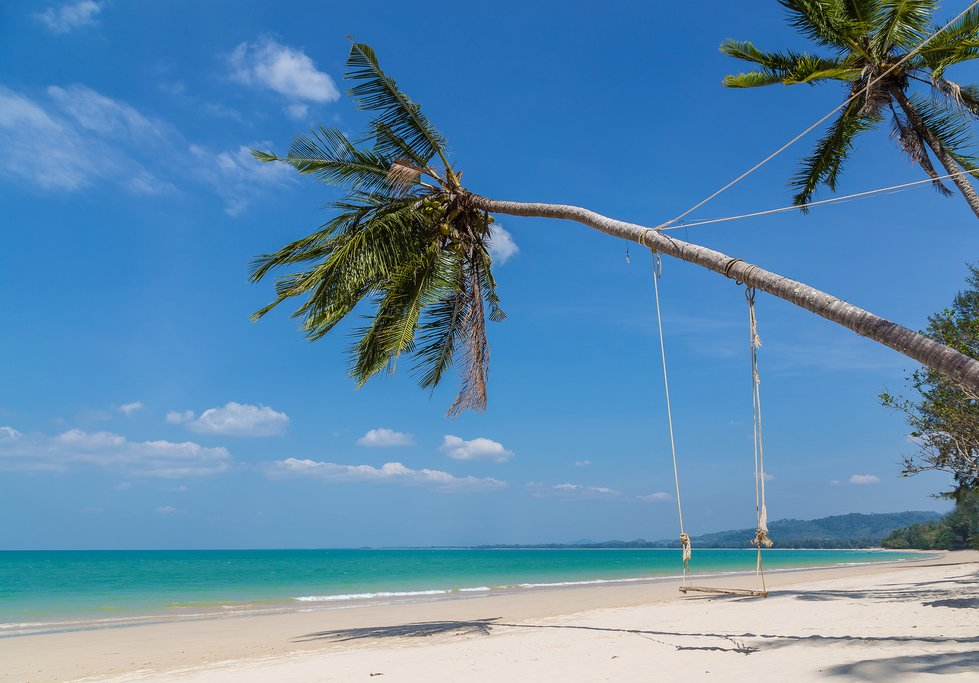 The white-sand beaches of Khao Lak