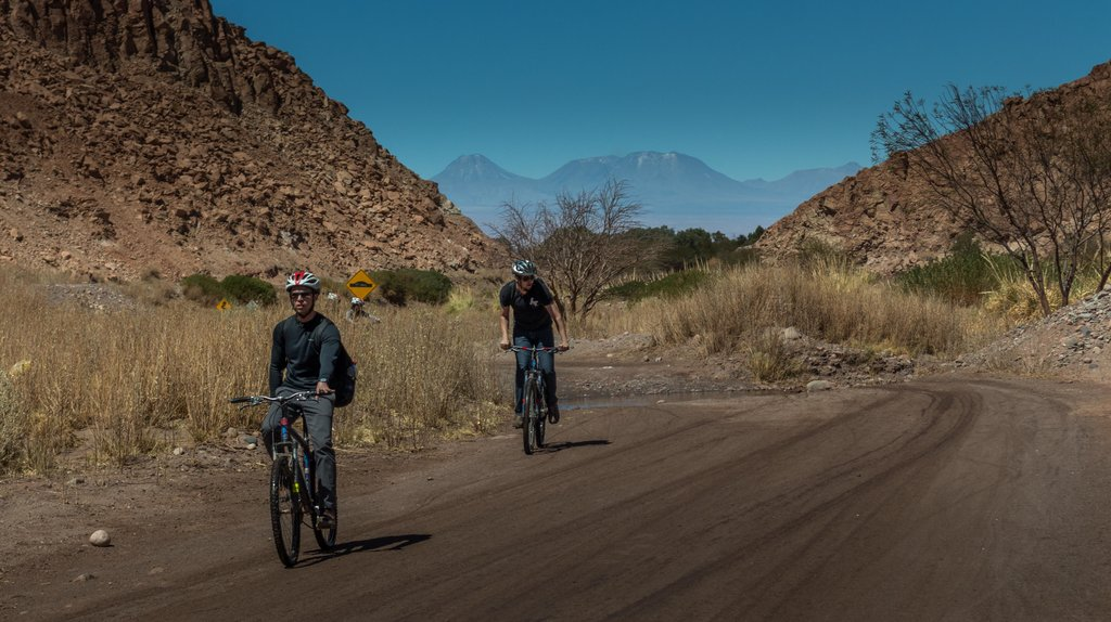 Enjoy a downhill ride to San Pedro