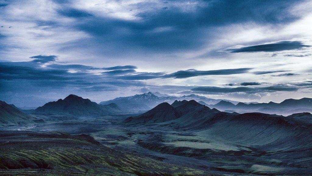 The volcanic desert of Laugavegur
