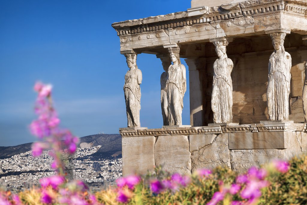 The Acropolis in spring