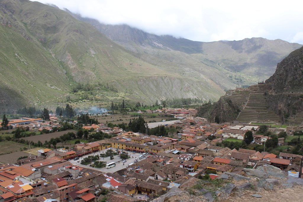 Pisac has an attractive market and spectacular Inca ruins above the town