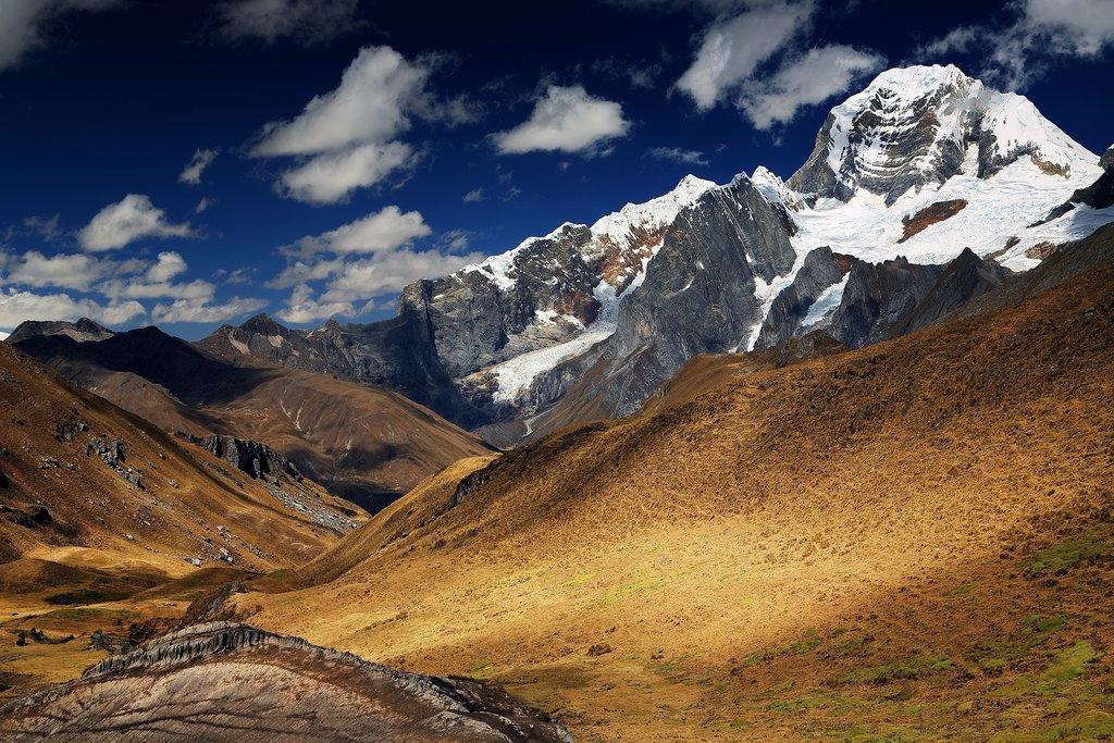Yerupaja Peak in Cordiliera Huayhuash