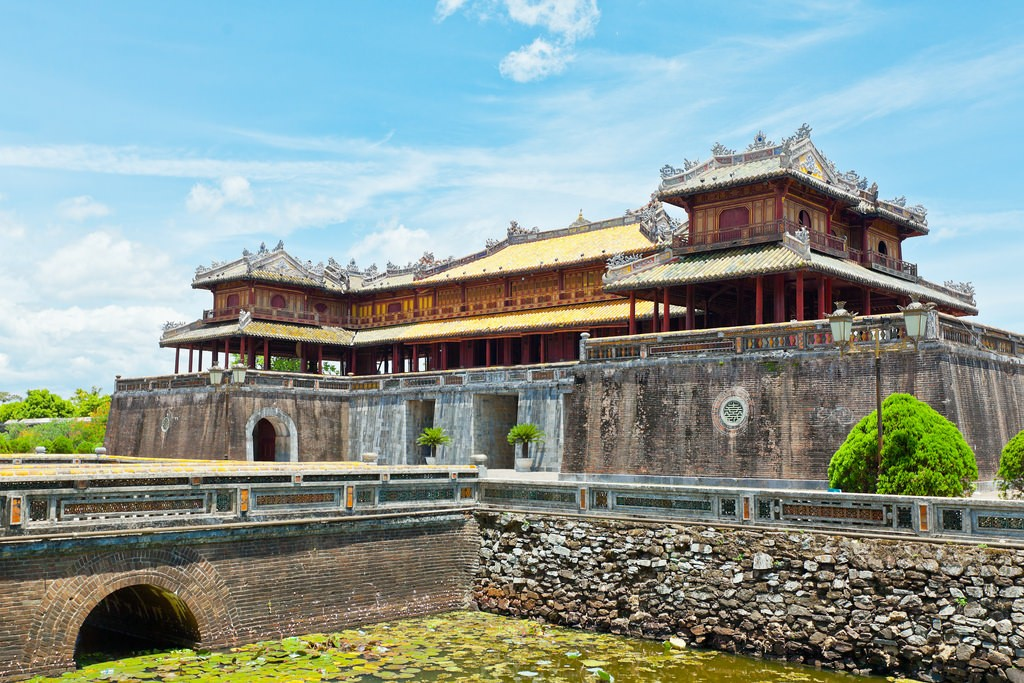 The old Imperial City of Hue