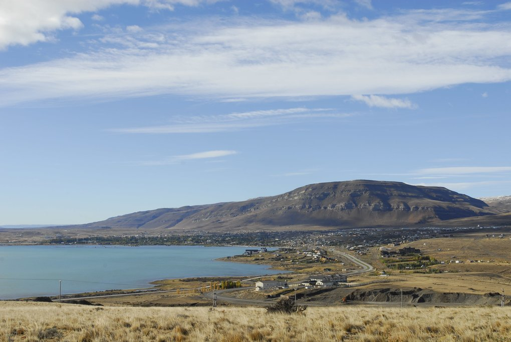 The shores of El Calafate.