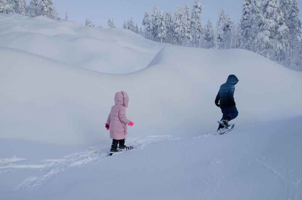 Snowshoeing in Rovaniemi