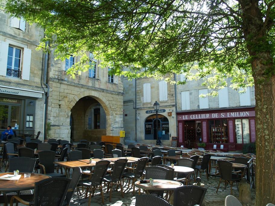 Quaint town of Moissac
