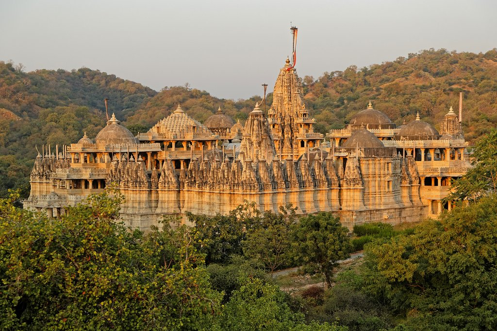 Jain temple, Ranakpur, India