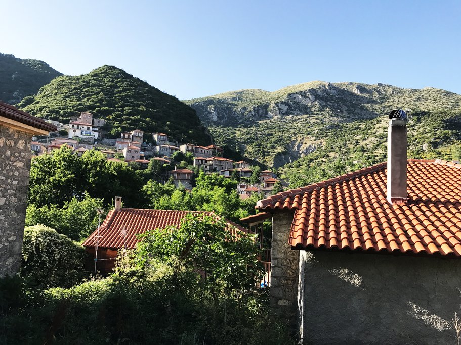 The hills of Dimitsana