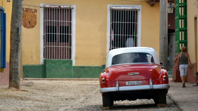 The streets of Old Havana