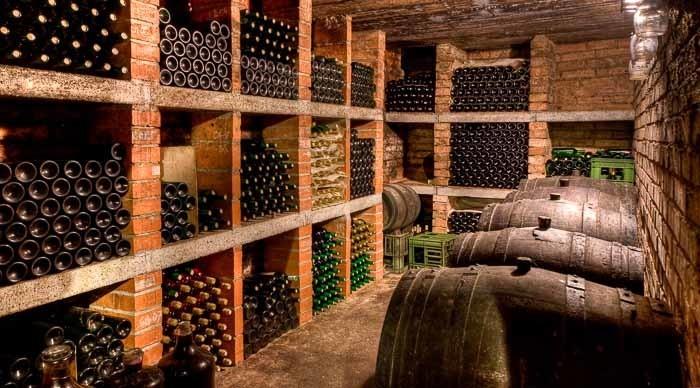 One of many St. Emilion wine cellars