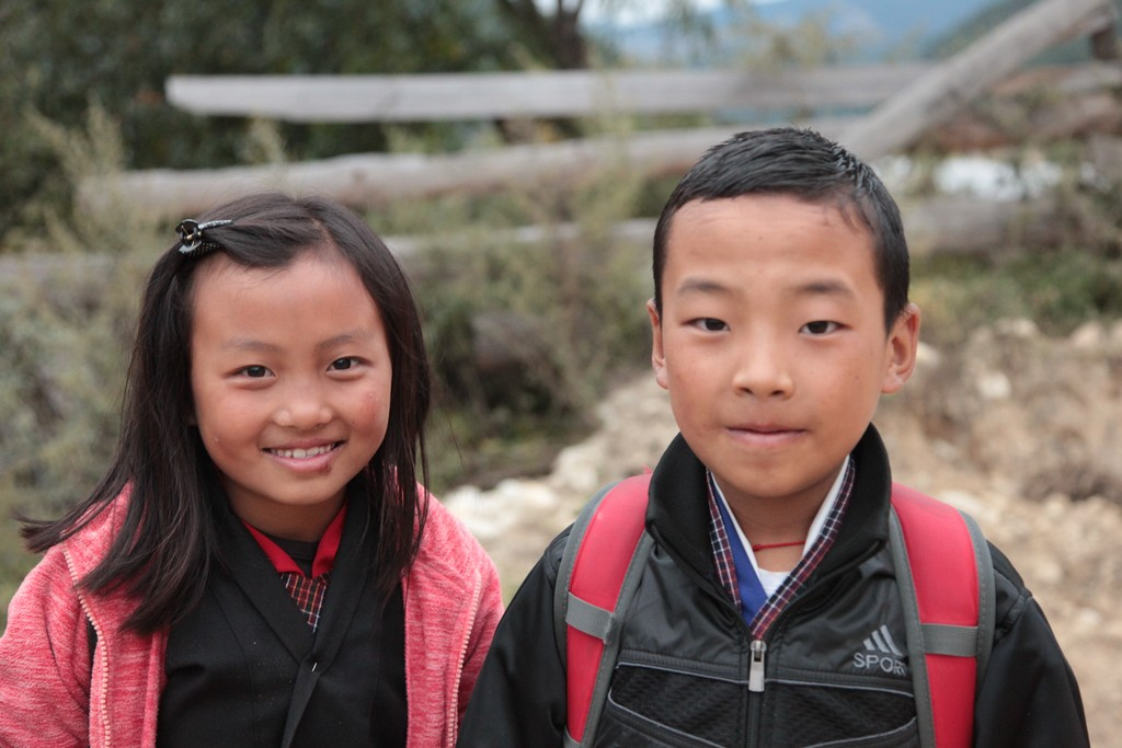 Students in the Ha Valley
