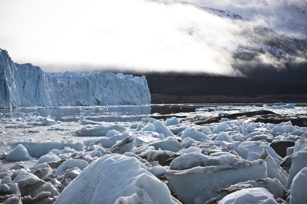 Glacier in El Calafate