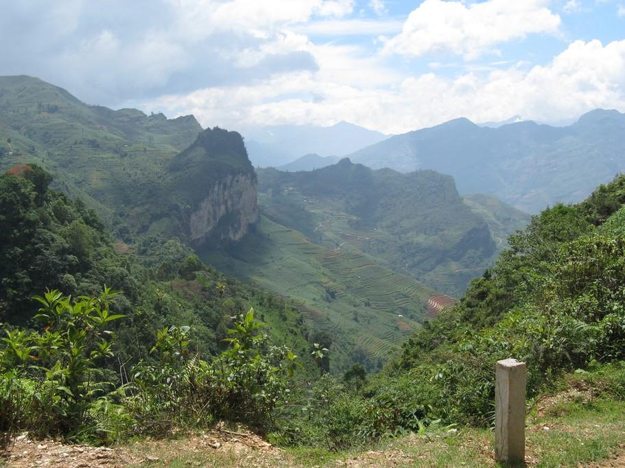 Trekking through the hills of northern Vietnam