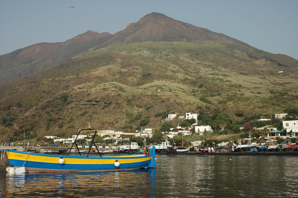 The port of Stromboli