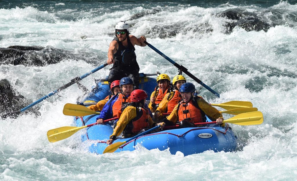Rafting in Chile's Lake District