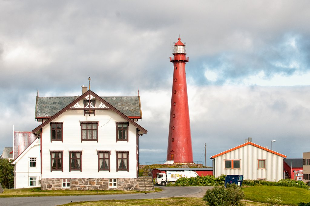 The village of Andenes on the lesser-known Vesterålen islands.