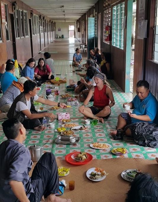 Traditional Bornean hospitality