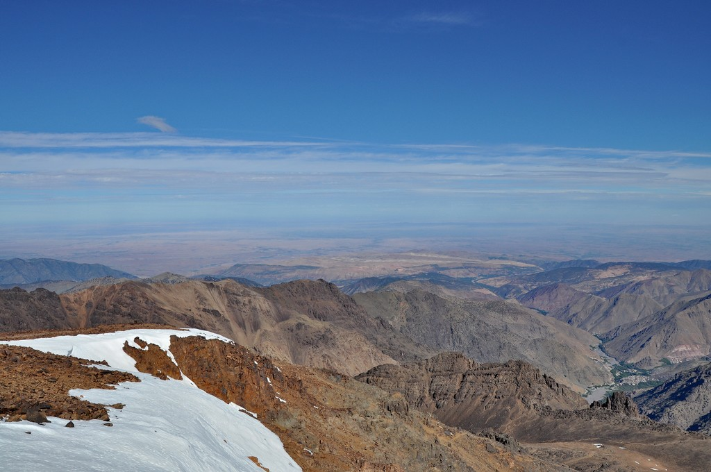 View from Toubkal