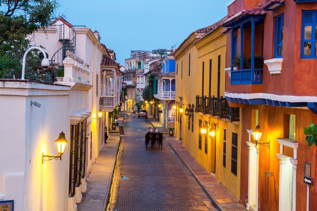 Cartagena blue hour
