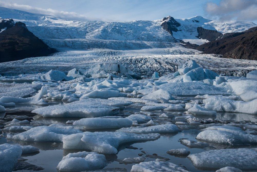 Icebergs at Fjallsárlón Glacier Lagoon(photo by Chris McCarty)