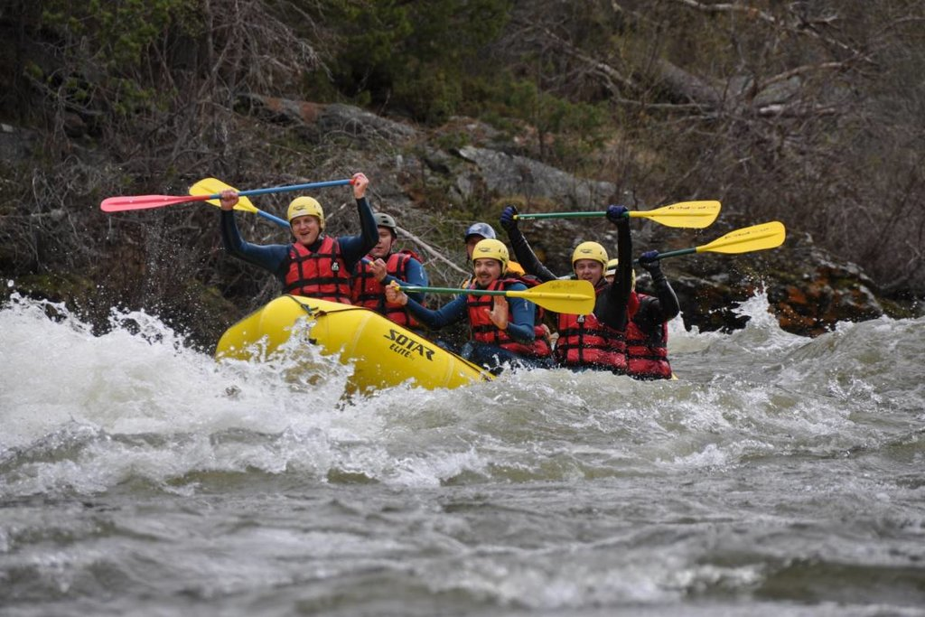 Rafting the Driva River
