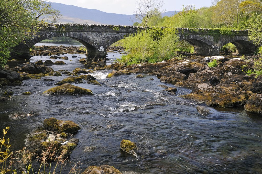 Blackstones Bridge, Upper Caragh River, Co. Kerry, Ireland