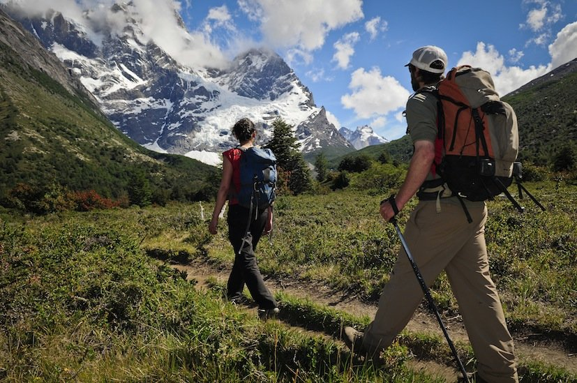 Trekking to French Valley
