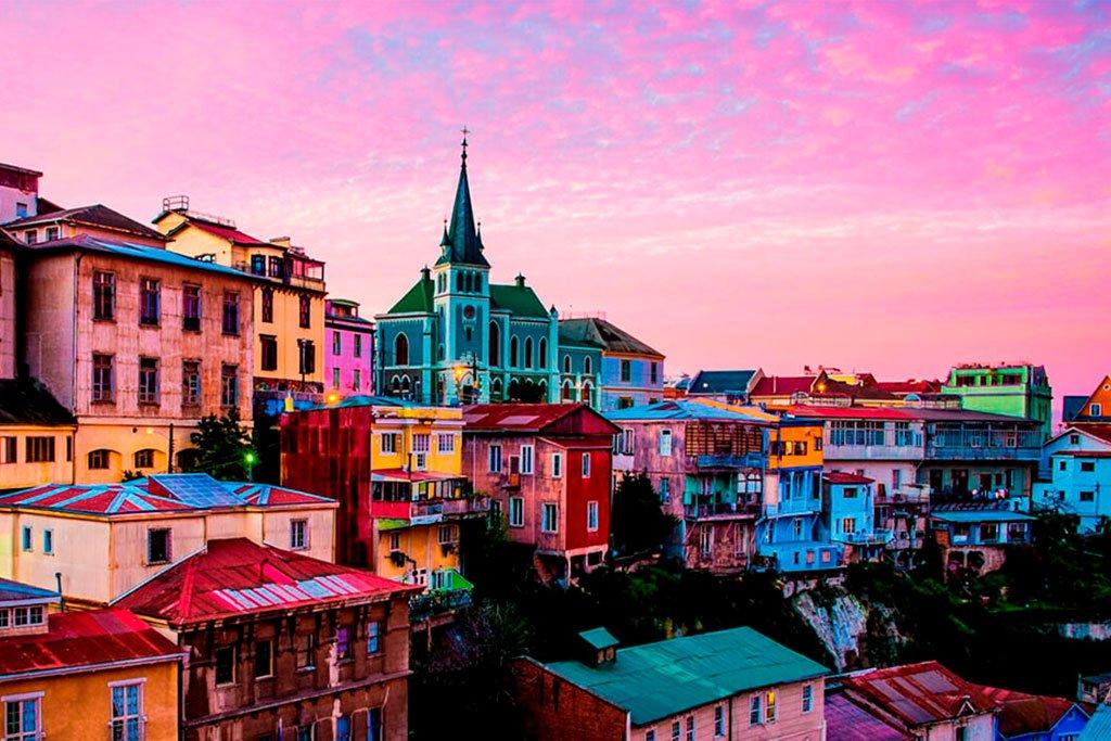 Colorful Valparaíso