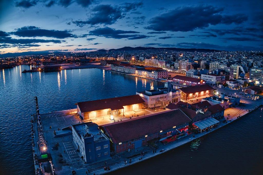 Thessaloniki by night