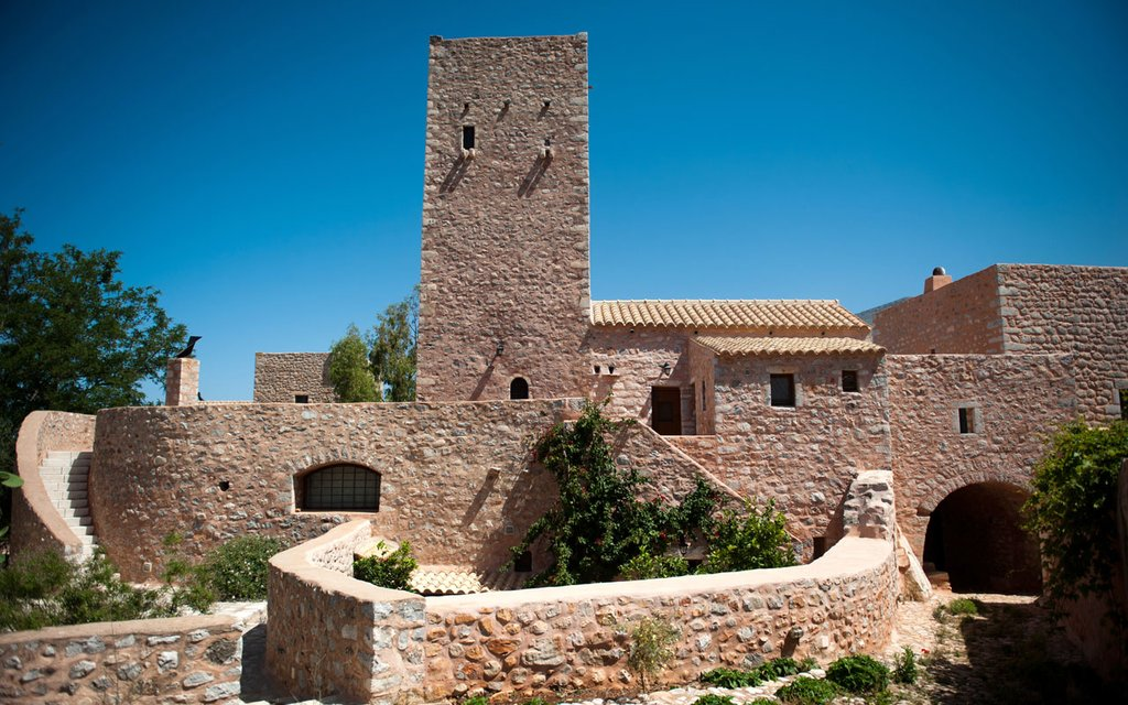 Stately accommodations at Arapakis Castle (Photo courtesy of Arapakis Castle)
